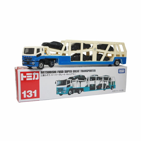 Takara Tomy Tomica No.131 Mitsubishi Fuso Super Great Transporter