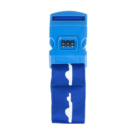 Cartoon TSA Travel Luggage Lock Strap Luggage Belt