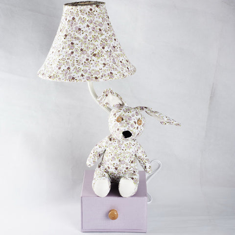 Talisha Floral Bunny Lamp