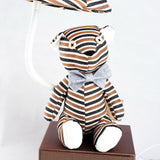 Hadley Stripes Teddy Bear Lamp