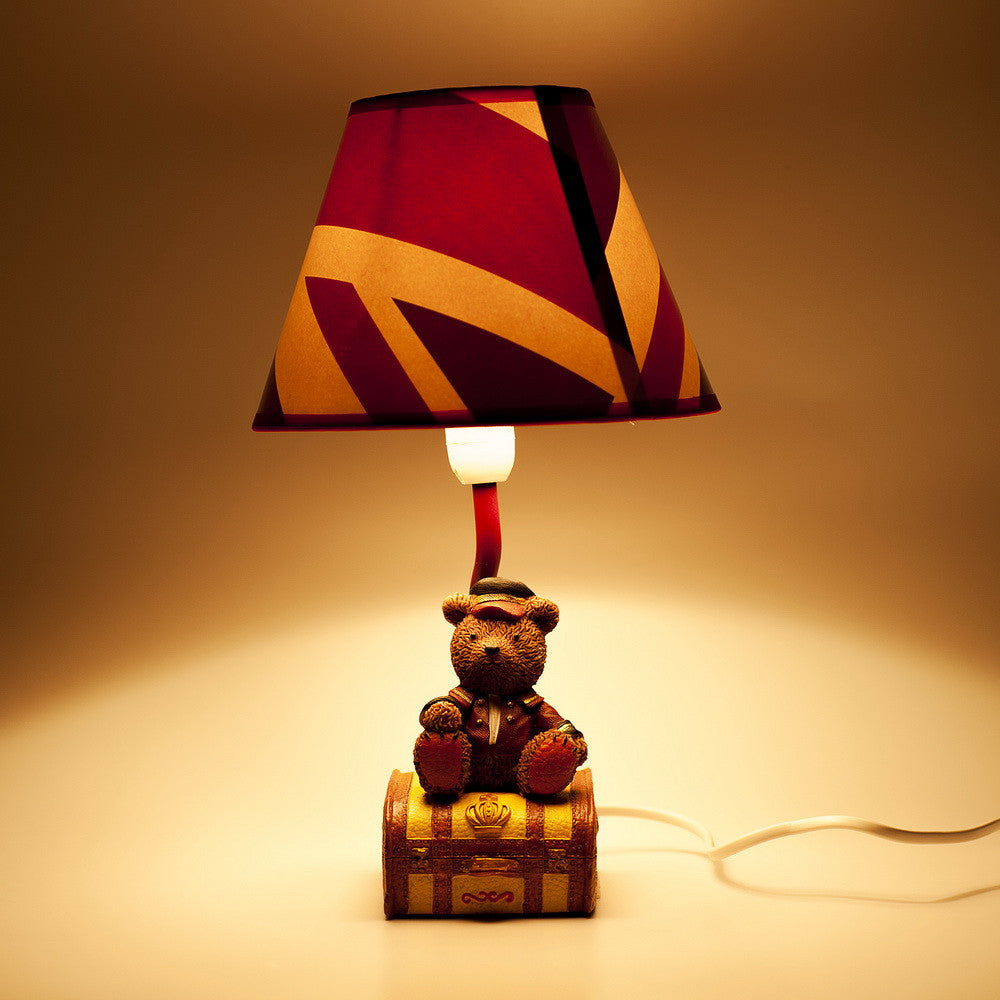 Faddey Bear and Luggage Lamp