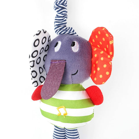 Musical Activity Elephant Plush Toy