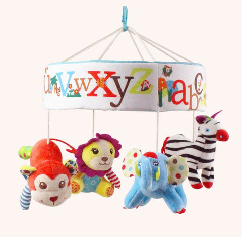 Alphabet Zoo Musical Crib Mobile