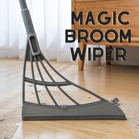 Multi-functional Length Adjustable Magic Broom Wiper