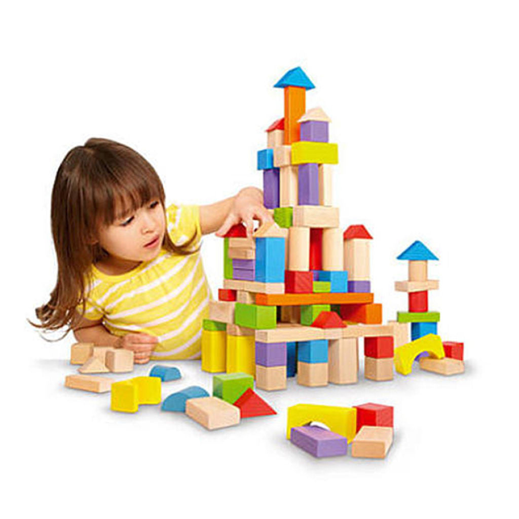 Imaginarium Wooden Block Set - 150 Piece