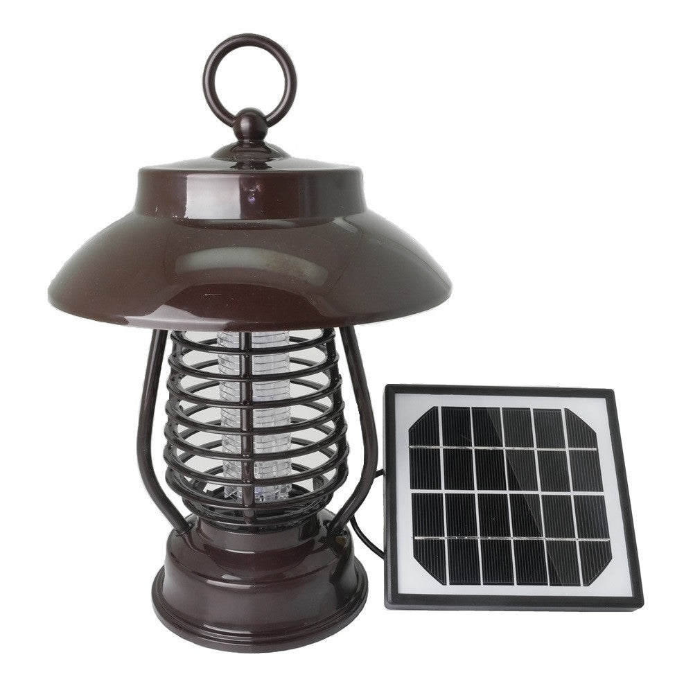 Mosquito Zapper Lamp and Light with Solar Panel