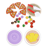 Playtive Wooden Pizza Play Toy Set