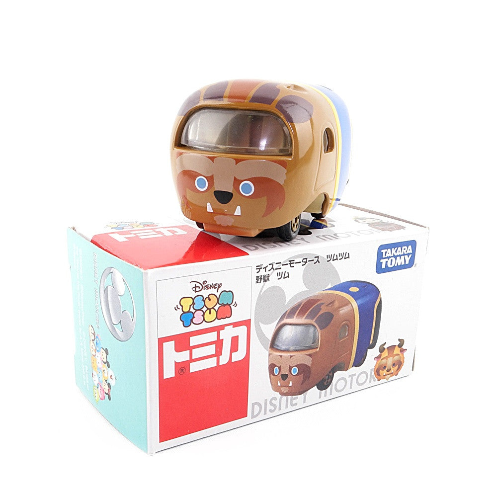 Takara Tomy Disney Motors Tsum Tsum Beauty & and the Beast