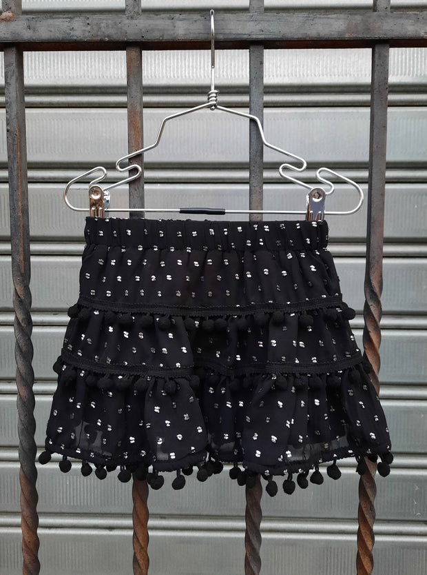 Maple Skirt Black