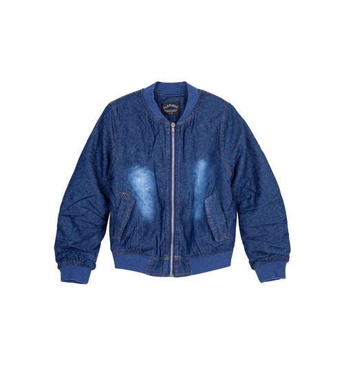 מעיל ג׳ינס DENIM BOMBER