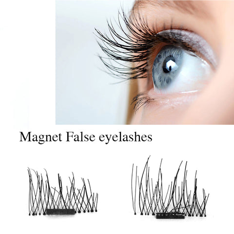 Girlie Closet 4pairs 3D Magnetic Eyelashes Extension Handmade