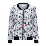Girlie Closet Bomber Jacket, Winter 2017  Floral Print