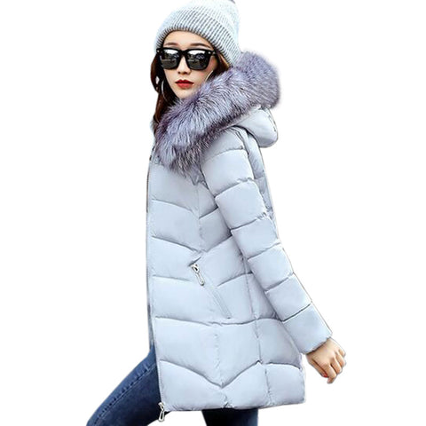 Girlie closet New Winter Jacket  With Fur collor