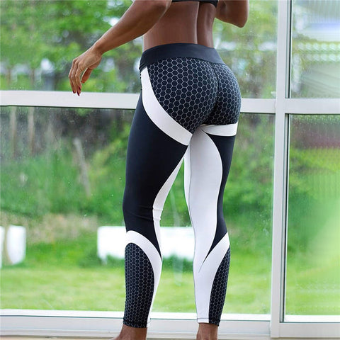 Girlie Closet Slim Push Up Leggings with High Waist Ankle-length