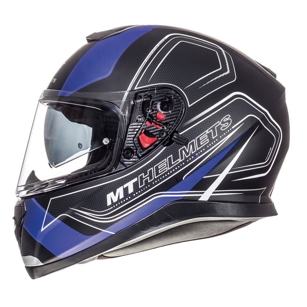 MT Helmet Thunder 3SV Trace - Black / Blue