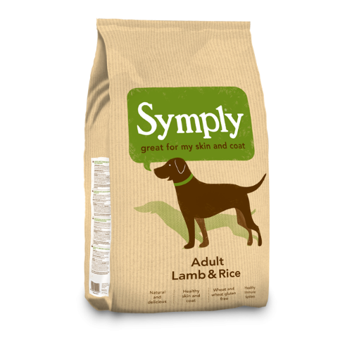 Symply Adult Lamb & Rice (2Kg/6Kg/12Kg)