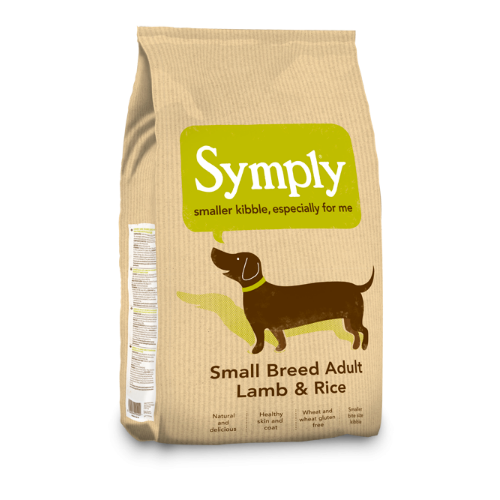 Symply Small Breed Adult Lamb & Rice  (2Kg/6Kg)