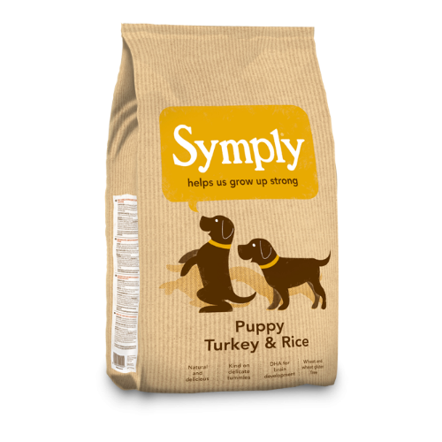 Symply Puppy Turkey & Rice (2Kg/6Kg/12Kg)