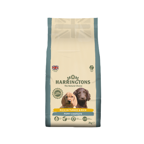 Harringtons Puppy Complete Rich in Turkey & Rice (2Kg/10Kg)