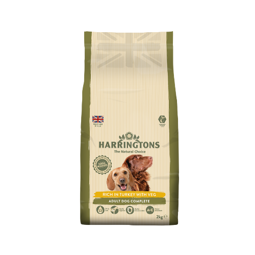 Harringtons Rich in Turkey with Veg (2Kg/15Kg)