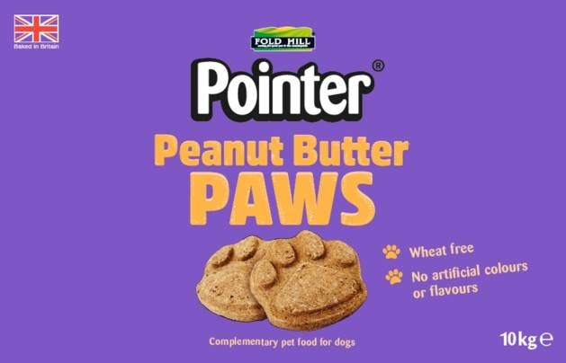 Peanut Butter Paws
