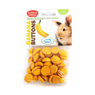 Critter's Choice Banana Buttons 40g