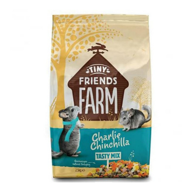 Tiny Friends Farm Tasty Mix Charlie Chinchilla 850g