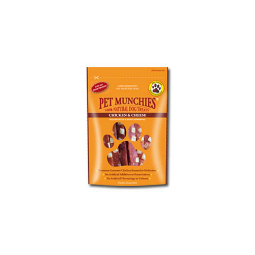 Pet Munchies Chicken & Cheese 100g