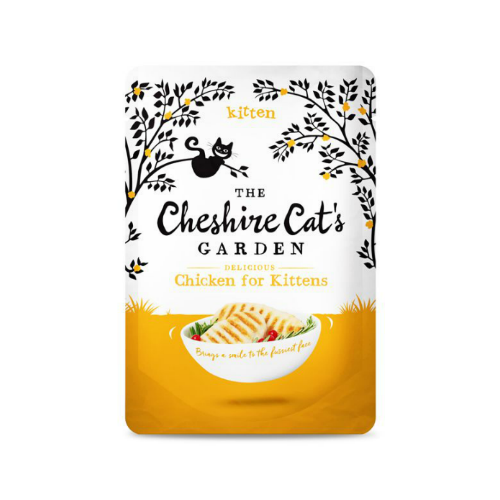 The Cheshire Cat's Garden Grain Free Chicken for Kitten Pouch 85g