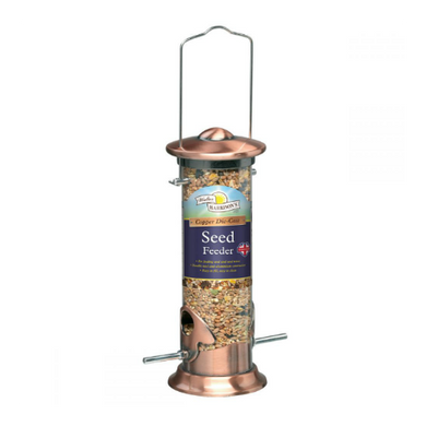 Walter Harrison's Copper Die-Cast Seed Feeder (20cm/35.5cm/51cm)