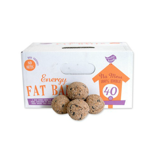Everyday Tweets 40 Fat Un-netted Fat Balls Box