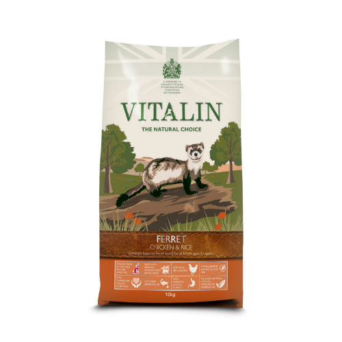 Vitalin Ferret Chicken & Rice (2Kg/12Kg)