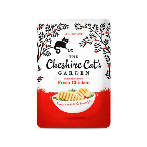 The Cheshire Cat's Garden Grain Free Pouches 85g