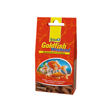 Tetra Goldfish Weekend 10 Food Sticks 9g