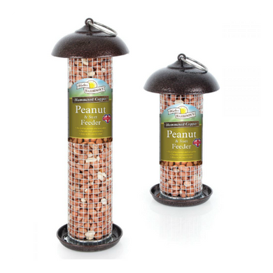 Walter Harrison's Hammered Copper Peanut & Suet Feeder (20cm/30cm)