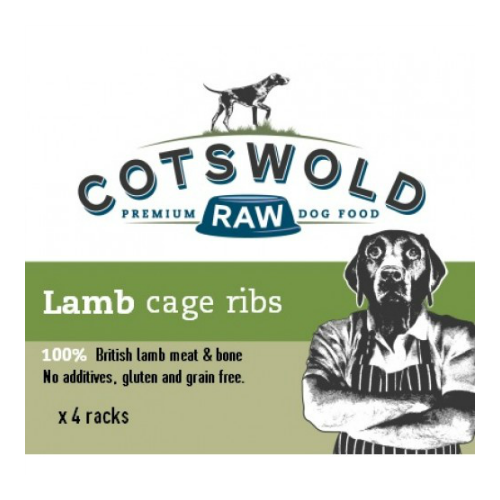 Cotswold Raw Lamb Cage Ribs x 4