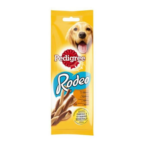 Pedigree Rodeo Chicken 4 Pack 75g