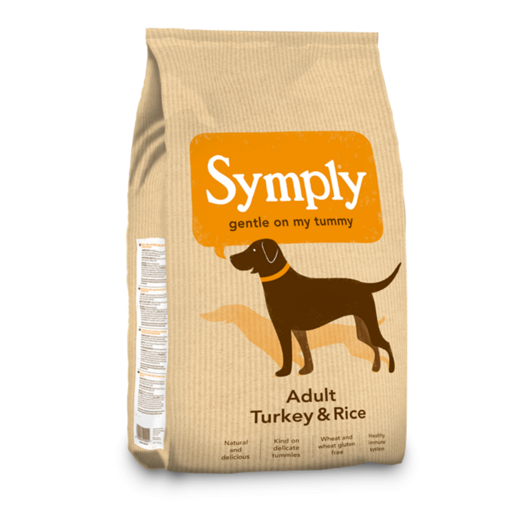 Symply Adult Turkey & Rice (2kg/6kg/12kg)