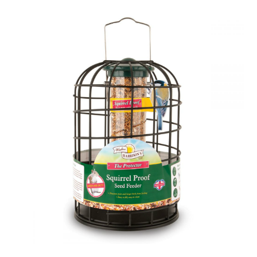 Walter Harrison's Squirrel Proof Protector Seed Feeder (20cm/35cm)