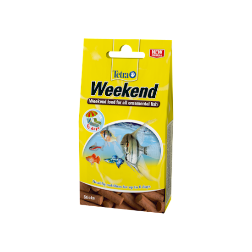 Tetra Weekend 10 Food Sticks 9g