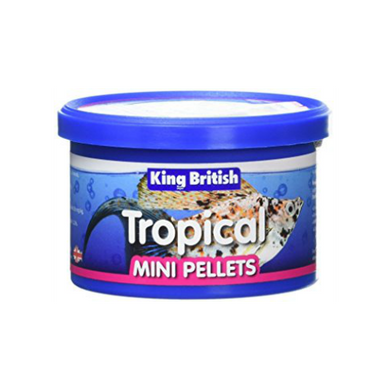King British Tropical Mini Pellets 45g