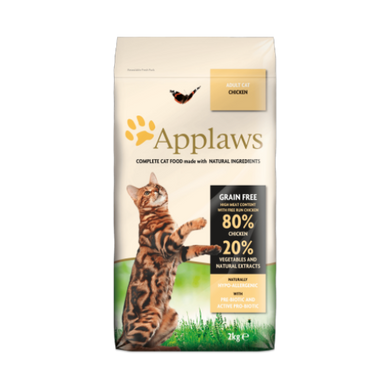 Applaws Grain Free Chicken Cat Food (400g/2Kg/7.5Kg)
