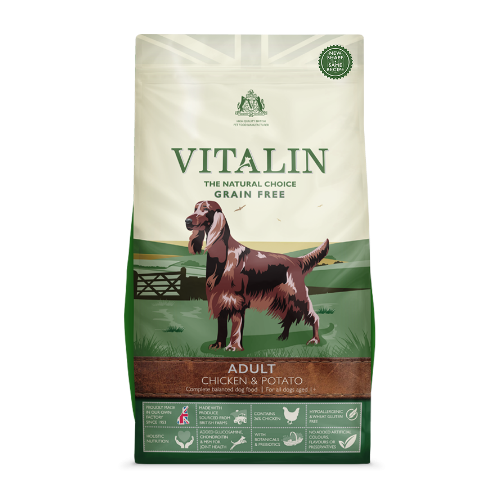Vitalin Chicken & Potato (2Kg/6Kg/12Kg)