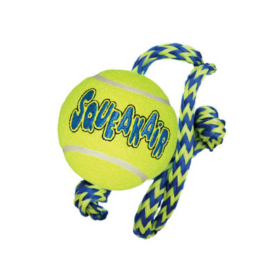 Kong Squeakier with Rope (Medium)