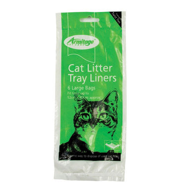Armitage Litter Tray Liners Large 6 Pack
