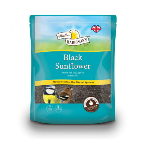 Black Oiled Sunflower Seed (500g/1Kg/2Kg/12.75Kg)
