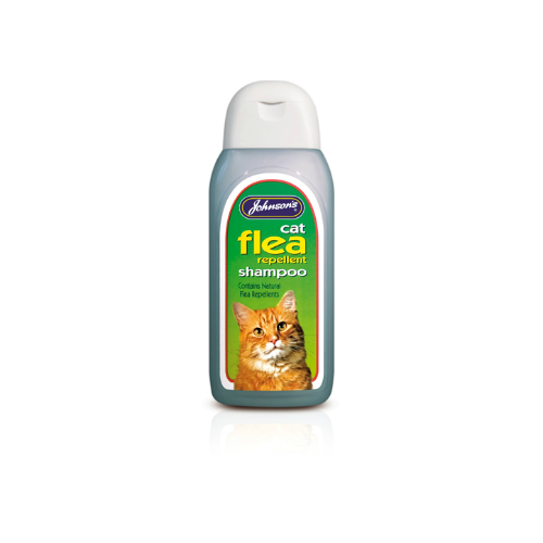Johnsons Cat Flea Shampoo (125/200ml)