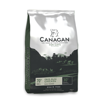 Canagan Free Run Chicken for Cats (375g/1.5Kg/4Kg)