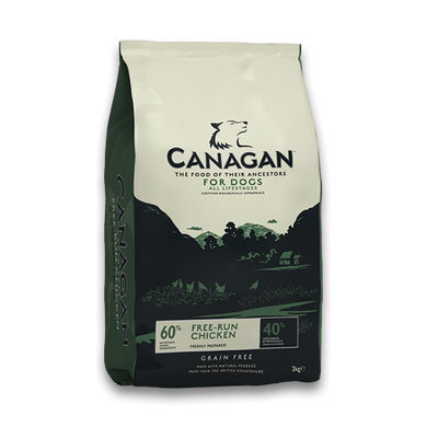 Canagan Free Run Chicken (500g/2Kg/6Kg/12Kg)