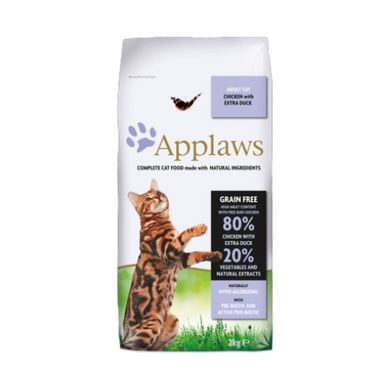 Applaws Grain Free Chicken with Extra Duck Cat Food (400g/2Kg/7.5Kg)